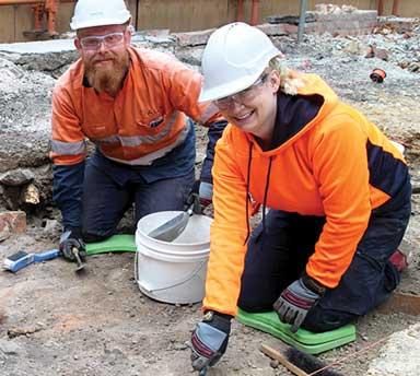 Big dig breaks ground