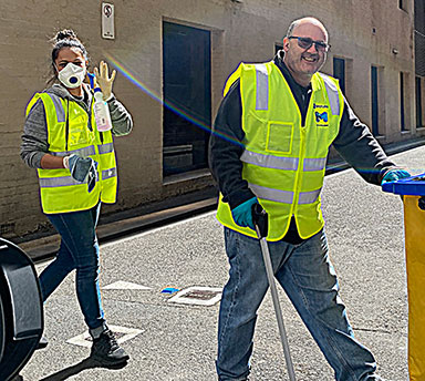 City cleaning services expanded