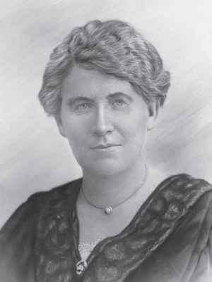 A artist's portrait of Mary Rogers
