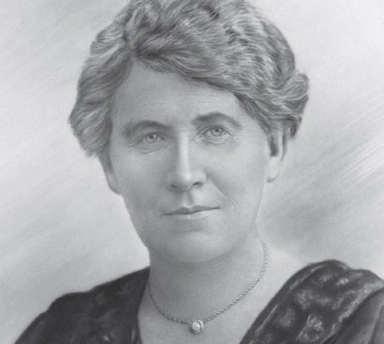 An artist's portrait of Mary Rogers