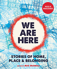 The book cover of We Are Here by Meg Mundell